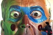 Street Art 2 / Street art: including 3D, paint, chalk, yarn bombing... / by Stacey Button