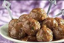 MEAT BALLS / I love to eat and cook meat balls.. I have 300 receipes from all over the world.. One day I might write a meat ball book. / by BARACUDA