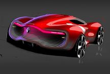 RED CONCEPT CARS / by BARACUDA
