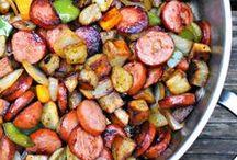 Recipes / by Carley Mak