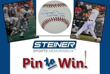 Steiner Sports Memorabilia Giveaway / Enter the Steiner Sports Memorabilia Giveaway for your chance to win an autographed Mariano Rivera baseball or one of 9 autographed photos. Enter between Nov 23rd and Dec 5th, 2012 and follow the rules on the 'Pin to Win' image. Winners will be announced on Dec 10th, 2012. / by Steiner Sports