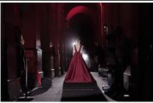 The Grand Entrance / Experience the priceless moments captured seconds before the ELIE SAAB women made their grand appearances… Entrance after entrance, royally opulent silhouettes appear from between the columns of the Palais Brongniart. / by Elie Saab