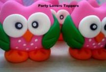 Fondant Toppers / Fondant toppers for Cupcakes and Cakes / by Party Lovers Cupcakes and Toppers