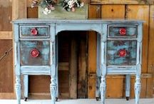 UPCYCLED, REPURPOSED FURNITURE / by LoveNZen