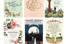 {invitations} / by vintage rentals denver
