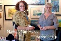 Blue Door Studio / Marlene Van Helden and Gwen Harp, Studio #36 on the WAVE tour. / by WAVE Artists