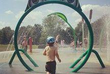 Splashpad, Splash pad,  Spray Park, Water Play, / Images of Vortex Splashpads, also known as Spray Parks, Aquatic Play Pads and Spray Grounds from around the world!  #vortex, #splashpad, #happysplashpadder http://www.vortex-intl.com / by Vortex Aquatic Structures International