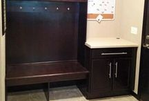 Entryways & Mudrooms / Different styles of entryways and mudrooms / by Cypress Homes