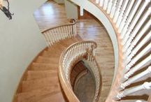 Staircases & Woodwork / Different styles of staircases and woodwork... Everything from elegant and upscale woodwork, to bright and colorful staircases / by Cypress Homes
