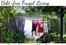 MONEY Debt-free Living ♥ / How to live debt-free: frugal tips and money management ideas. / by Melissa @EmpressOfDirt.net  ❤