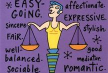 | balance | / the sign of the scales ~ libra / by Carol Cottrill, CNC