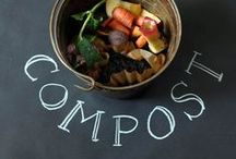 GARDEN Compost ❤ / Composting tips, tricks, ideas, containers, methods facts, DIYs, how-tos, for enriching soil in any garden. / by Melissa @EmpressOfDirt.net  ❤