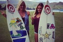 Real Surfer Girls..... / by Gary Craig Johnson