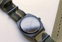 Watches & apparel / by Abel RamirezRivero