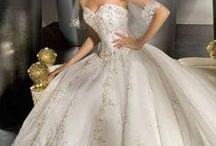 wedding dresses  / by Kylie John