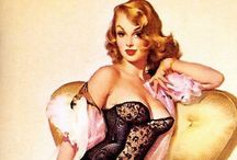 Vintage Pin Ups / by Cammille Webb