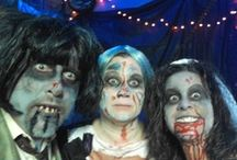 Costumes- Halloween horror zombie thriller / all things horror for halloween but theme this year zombie, thriller, macabre / by Debbie Aitchison