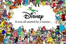 Started by a mouse / Love love love love love love disney!!! / by Kim Charles