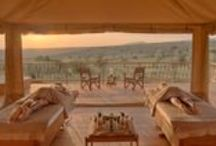 Amani African Spa Village / Our Spa at Mara Bushtops takes Wild Luxury to new heights. It adds luxurious pampering, peace and tranquillity to the excitement of game watching, culinary excellence and the comforts of the camp. / by Bushtops Camps