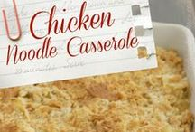 Casserole Dinner / Looking for a one dish casserole to ease your cooking load.  Here is the ticket... / by Greg and Terri Novini