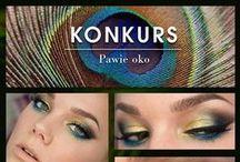 Pawie Oko / Prezentujemy wszystkie zgłoszenia do konkursu, który się odbył na Facebooku - makijaż a'la pawie oko. / by Golden Rose Polska