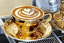 COFFEE AND SOME DAZZLE / COFFEE IDEAS / by Jane Knight
