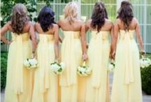 Yellow Wedding ideas / by Pedestals Floral Decorators