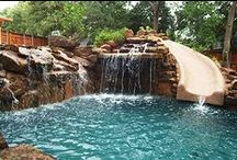 Stunning swimming pools / by Sheri Woodall