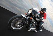 Motor +2 / Motorcycles: bobber, cafe racer, custom, scrambler, BMW, Harley, Ducati, Guzzi, MV, BSA, Norton, Triumph, Enfield, Bultaco, Ossa, Honda, Yamaha, Suzuki, Kawasaki ... / by Dario Vega