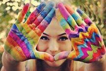 all things colourful / by Nicola Benadie