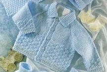 Babykläder stickat / by adilah wallen