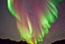 Aurora Boreal / Aurora boreal são fenômenos que ocorrem nas regiões polares do norte do planeta Terra,... / by .*♡*Andréia Sgorlon ♥ ❥♥