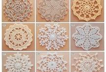 Gráficos de croche / site com varias receitas e gráficos de croche / by Sandra Crochetando
