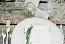 Styling and Table Decor / by Charlotta Ward