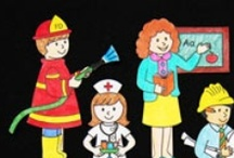 Community helpers / by Airamty Sid