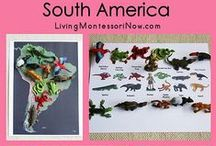Continent Box: South America / by Airamty Sid