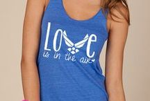 Love is in the Air / Proud Air Force Girlfriend <3 / by Jackie Mako