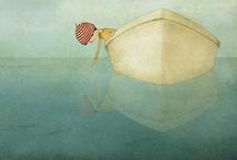 Art: Illustrations, Collage & Graphic Design / by En vakker dag ..