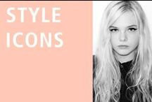 Style Icons /  The Usual, and sometimes Unusual, Suspects / by Shellys London