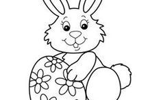 Holiday - Easter (Coloring Pages) / by Lynn White