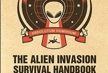 Alien Invasion / #nephilim #nephelim #aliens # alien invasion # greys # space #cosmic # cosmic threat  / by Craig McCartan