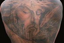 Christian Body ART / This is as it says Body ART with a Christian theme / by Craig McCartan