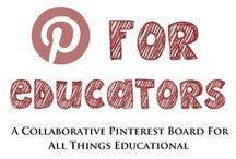 For Educators / Use your best judgement when posting and be sure to label all commercial items with the $ symbol. Please leave room for posts from others and post no more than 10 pins in a row. Email support@theteachertreasury.com if you would like to join.  Feel free to invite other educators to pin! / by The Teacher Treasury