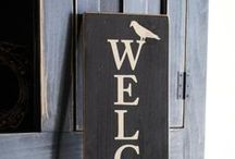 Home / by The Rustic Sign