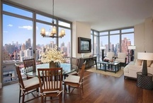 Unit 27CD / A combination of 2 corner apartments, this sprawling 4 bedroom, 4.5 bathroom home offers a 67 square foot balcony, 10 ft ceilings, and direct open views of the East River and city skyline. For more information, please visit us at : http://www.azureny.com/ / by Azure New York