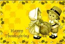 Thanksgiving Printables & Paper Dolls / by Helena Dybala