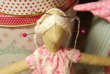 Dolls, Soft Toys Patterns & Tutorials / by Deirdre P