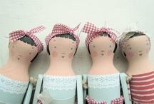 Doll & stuffie Ideas / by Annette Baldonado