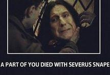 Severus Snape / by Ashley Reynolds