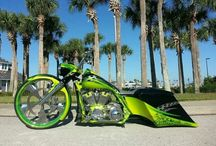 Crazy motorcycles / by Bubba